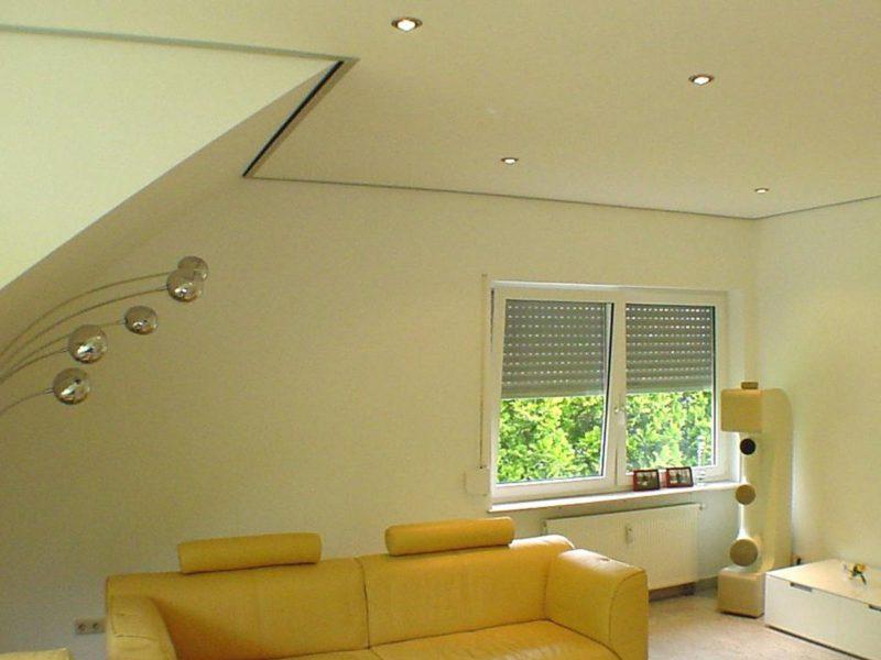 plaatsing van verlaagd plafond